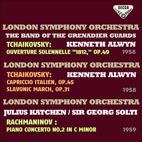 Julius Katchen: Tchaikovsky: 1812 Overture, Capriccio