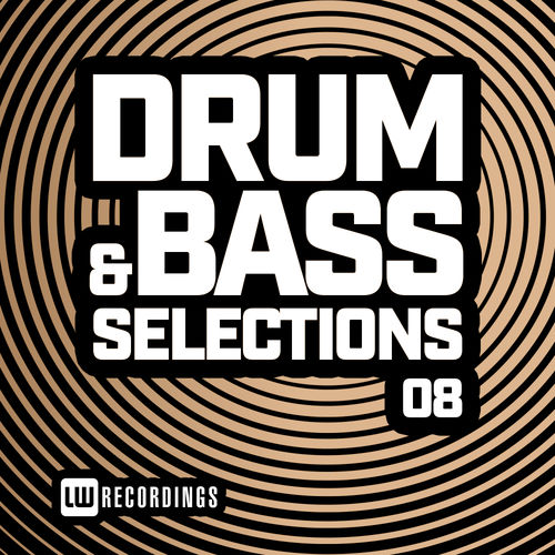VA - DRUM & BASS SELECTIONS, VOL 08 LP