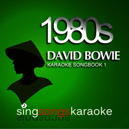 Album cover of The David Bowie 1980s Karaoke Songbook