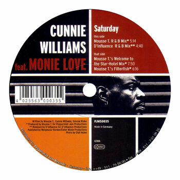 Saturday (Feat. Monie Love) cover