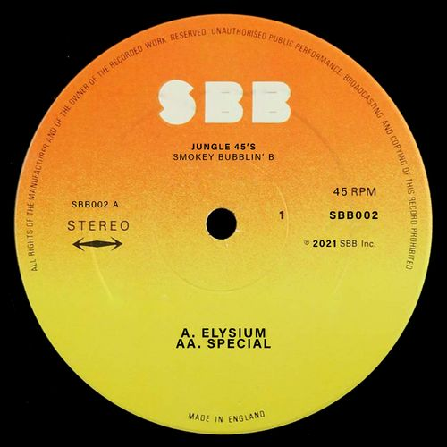 Download Smokey Bubblin' B - Elysium / Special (SBB002) mp3