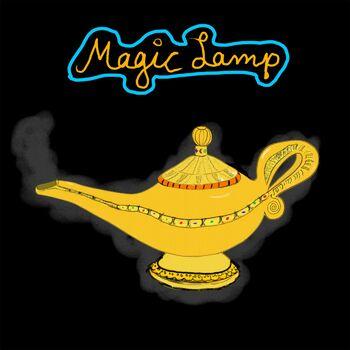 Magic Lamp cover