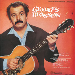 Album cover of Georges Brassens et sa guitare accompagné par Pierre Nicolas N°5