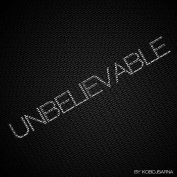 Unbelievable cover