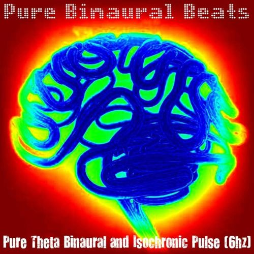 Pure Binaural Beats: Pure Theta Binaural and Isochronic Pulse (6hz