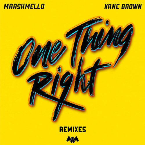 Marshmello - One Thing Right (Remixes) [EP] 2019