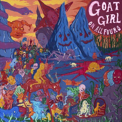 Resultado de imagen de Goat Girl - Lp: On All Fours  500x500