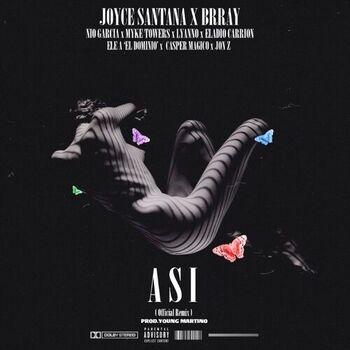 Así (Remix) [feat. Nio Garcia, Casper, Myke Towers, JonZ, Ele A El Dominio, Eladio Carrión & Lyanno] cover