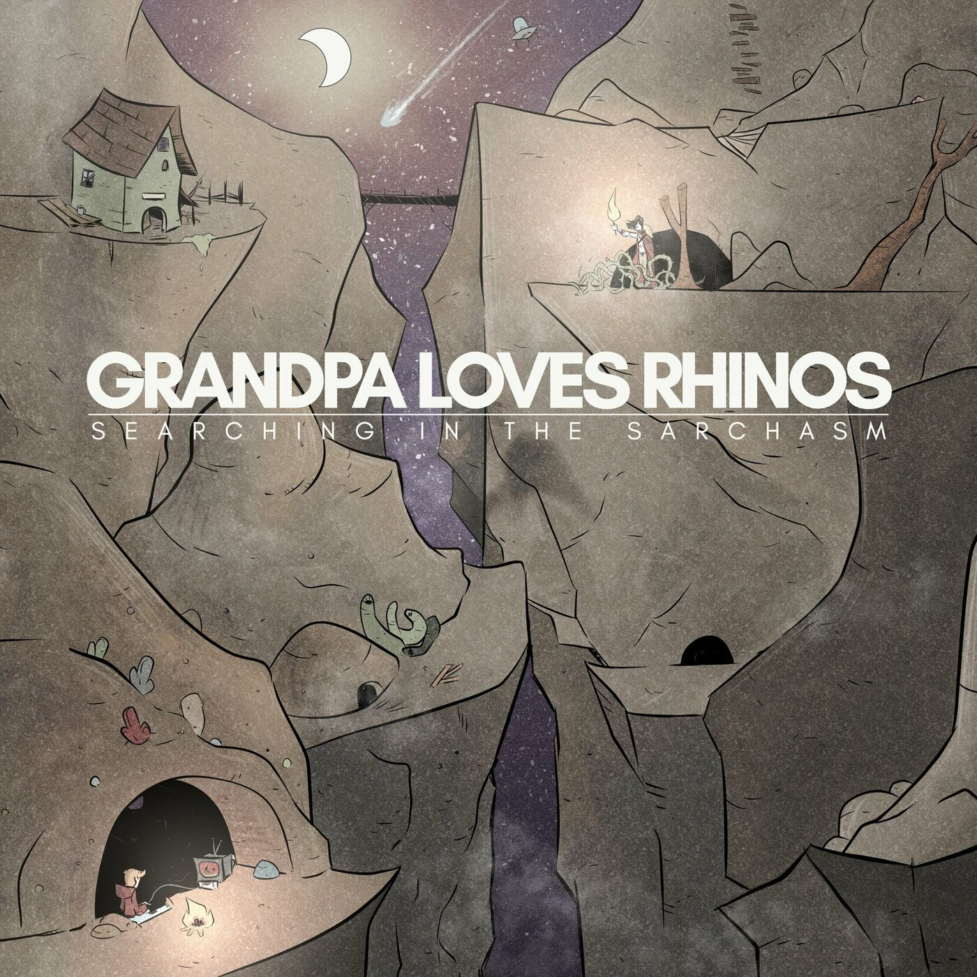 Grandpa Loves Rhinos - Searching in the Sarchasm (2020)