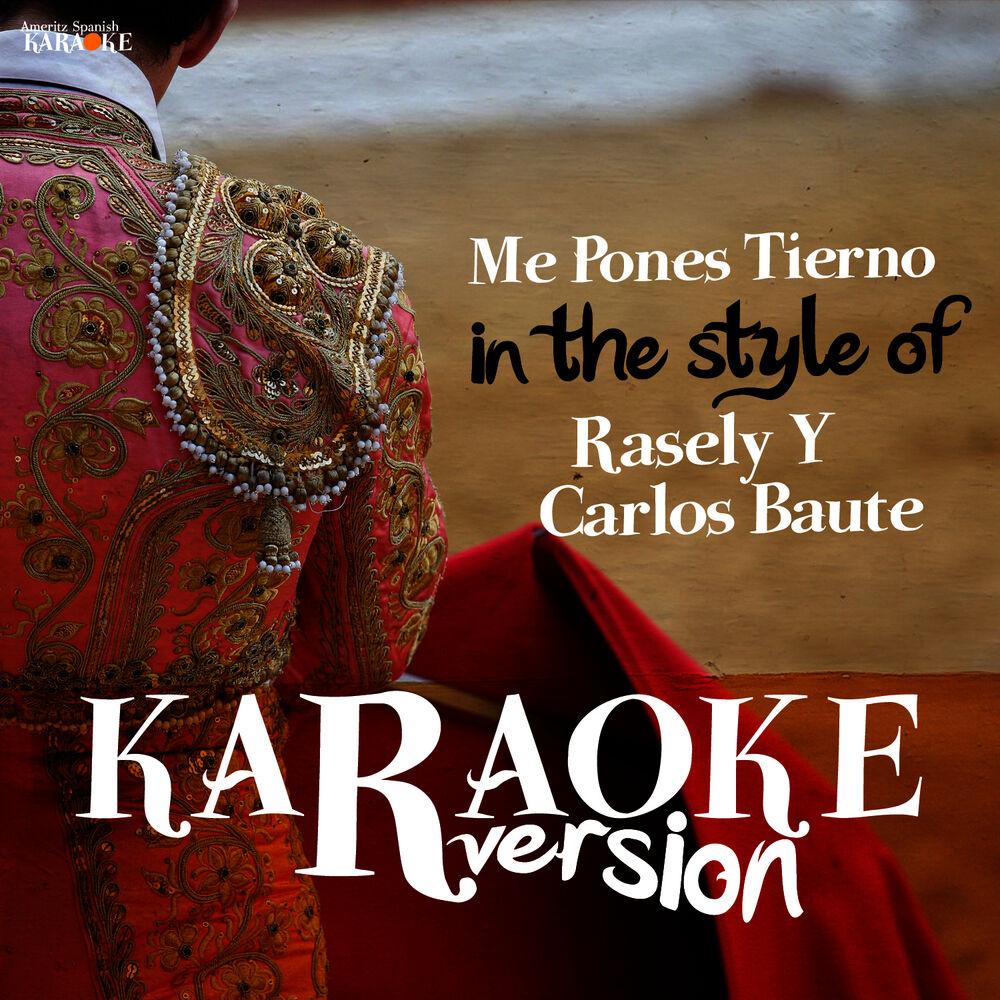 Me Pones Tierno (In the Style of Rasely Y Carlos Baute) [Karaoke Version]
