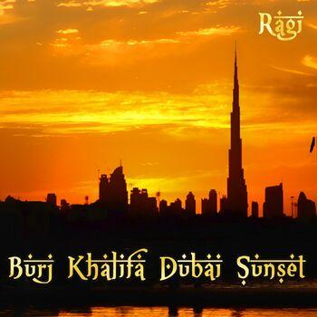Burj Khalifa Dubai Sunset cover