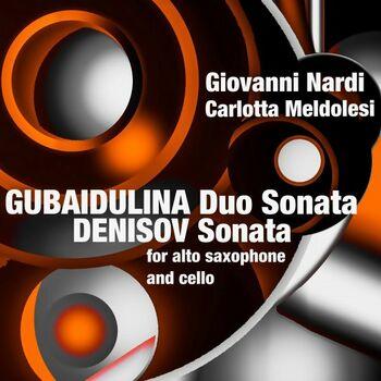 Sonata for Alto Saxophone and Cello: III. Moderato cover