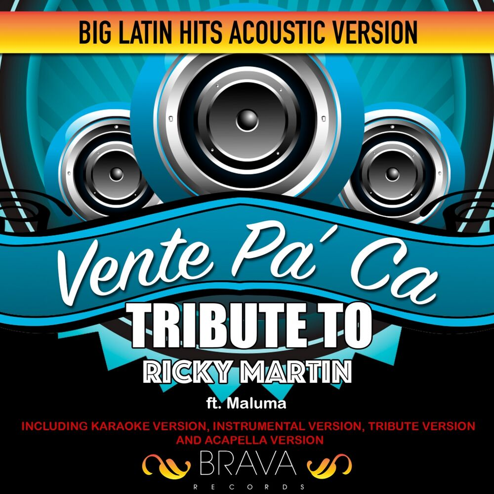 Vente Pa'Ca - (Acoustic Version) Tribute To Ricky Martin & Maluma [Karaoke]
