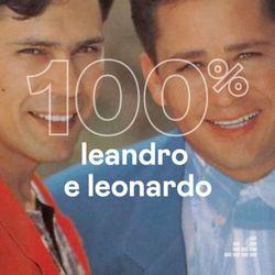 Capa 100% Leandro e Leonardo