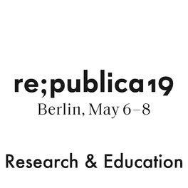 Show cover of re:publica 19 - Research & Education