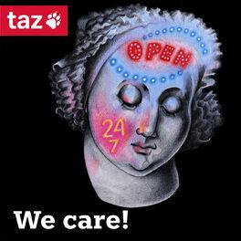 Show cover of We care! - Der feministische taz Podcast zu emotionaler Arbeit und Care