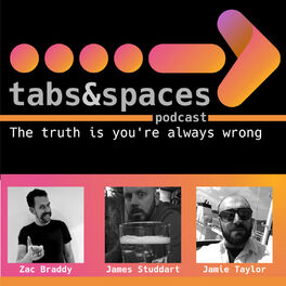 Show cover of Tabs and Spaces Podcast
