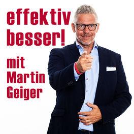 Show cover of effektiv besser! mit Martin Geiger