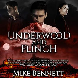 Show cover of Underwood and Flinch and Other Audiobooks by Mike Bennett