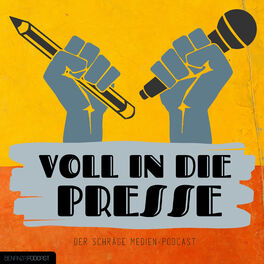 Show cover of Voll in die Presse