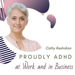 Show cover of Proudly ADHD at work and in business