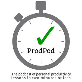 Show cover of ProdPod, a Productivity Podcast