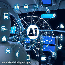 Show cover of Self-Driving Cars: Podcast Series by Dr. Lance Eliot