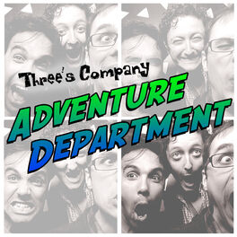 Show cover of Three's Company's ADVENTURE DEPARTMENT