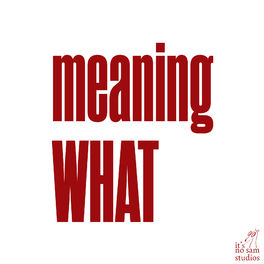 Show cover of Meaning What