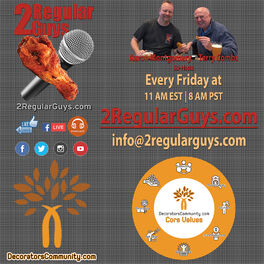 Show cover of 2 Regular Guys Talking Decoration and Personalization