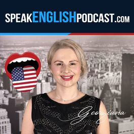 Show cover of Speak English Now with teacher Georgiana