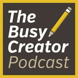 Show cover of The Busy Creator Podcast with Prescott Perez-Fox
