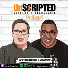 Show cover of UnScripted: Authentic Leadership Podcast