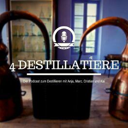 Show cover of 4 Destillatiere - der Destillations-Podcast