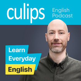 Show cover of Culips Everyday English Podcast