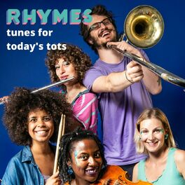 Show cover of RHYMES - tunes for today's tots!