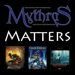 Show cover of Mythras Matters