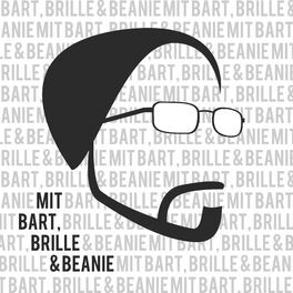 Show cover of mit Bart, Brille & Beanie