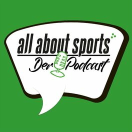 Show cover of all about sports - Der Podcast