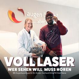 Show cover of VOLL LASER - Wer sehen will, muss hören: mit Augenlaserexpertin Dr. Kirsten Reinhard