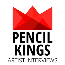 Show cover of Pencil Kings   Inspiring Artist Interviews with Today's Best Artists