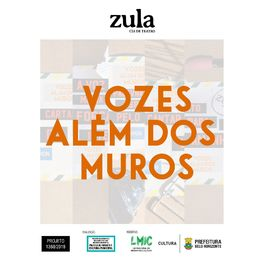 Show cover of Vozes além dos muros - Zula Cia de Teatro