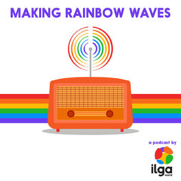 Show cover of Making rainbow waves