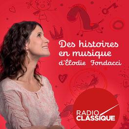Show cover of Des histoires en musique d'Elodie Fondacci