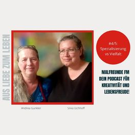 Show cover of Malfreunde FM - dein Podcast für Kreativität und Lebensfreude
