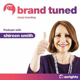 Show cover of Brand Tuned - Sharp Branding